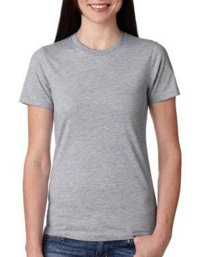 grey blank tee shirt