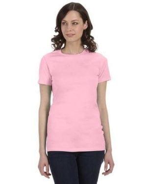 Bella plain tee pink