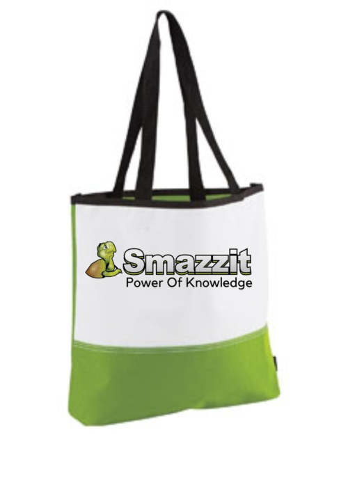 lime green tote knowleged tote
