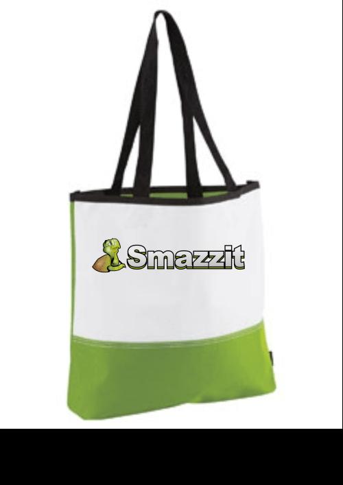 lime green tote bag designer