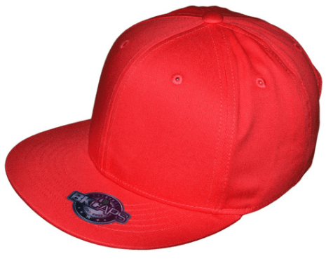 BK red snapback