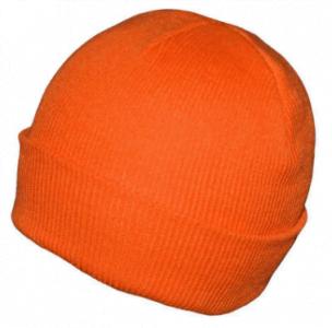 orange blank beanie