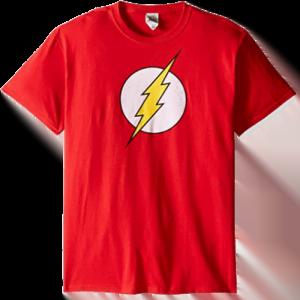 Flash Logo print