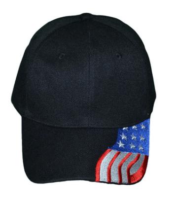 flag on side of underbill