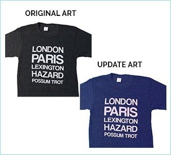 We can do t shirt design color changes