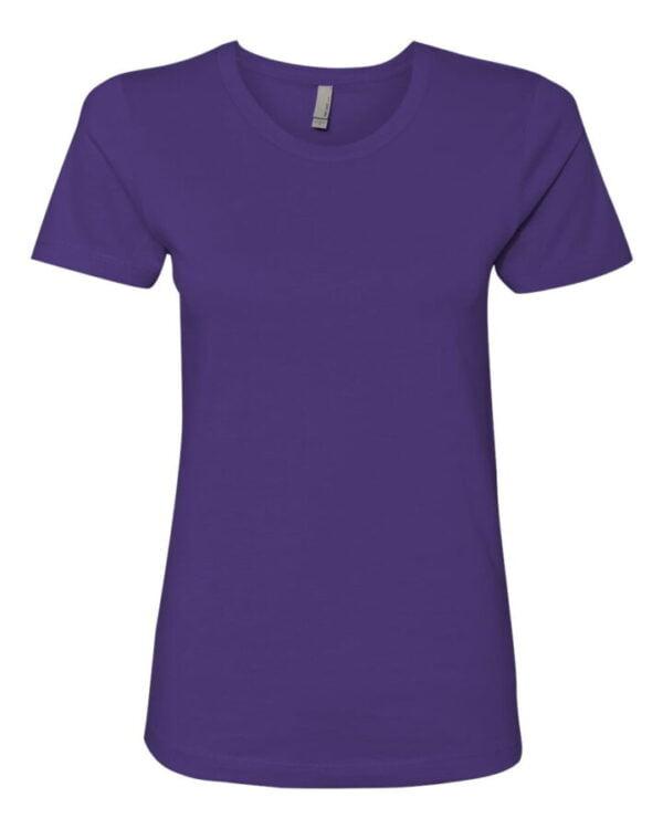 purple tees ladies front