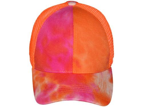 ponytail adjustable cap
