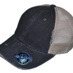 black pigment dyed caps