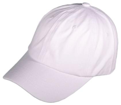 47's style white cap